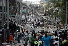 Haiti earthquake aftermath. Photo Credit: Peta-de-Aztlan via Flickr