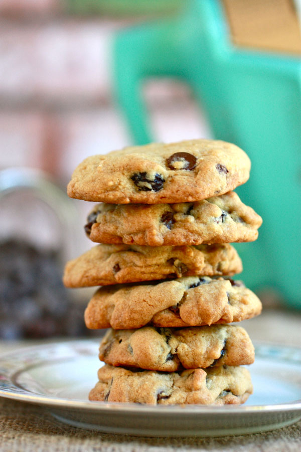 Drool Over Chocolate Cherry Chunk Cookies