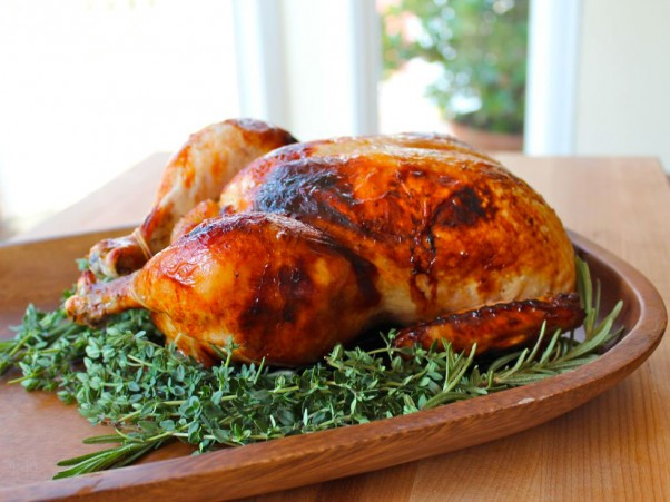 Tori's Honey Herb Roasted Chicken