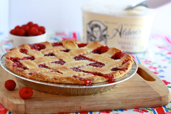 Discover Jenna's secret ingredient for raspberry pie