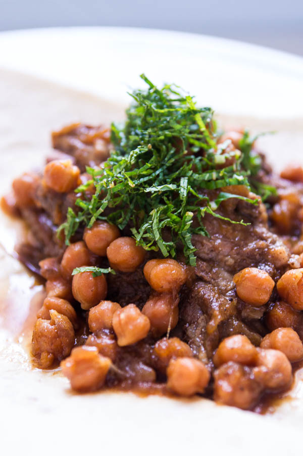 Braised Lamb with Chickpeas
