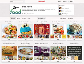 PBS Food Pinterest