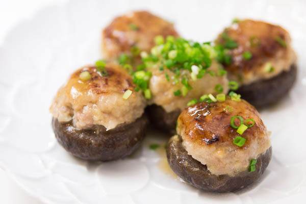 Stuffed Shiitake
