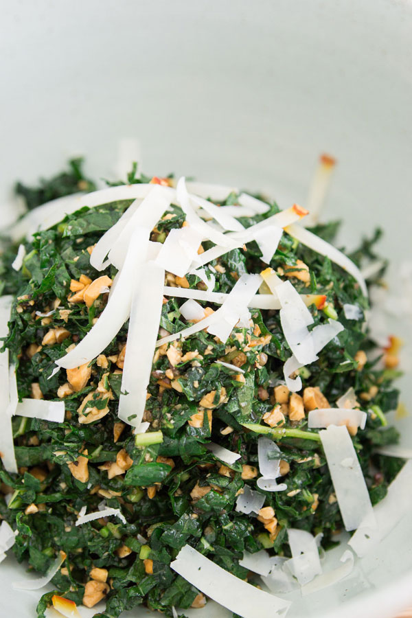 Kale Salad with Almonds