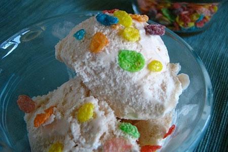 Vanilla Garlic Breakfast Cereal Ice Cream