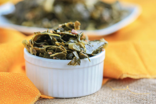 Southern Style Collard Greens recipe