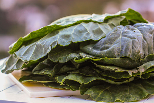 If you prefer, you could substitute the collards for mustard greens if ...