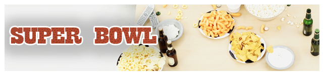 2010 Super Bowl Food Commercials custom banner