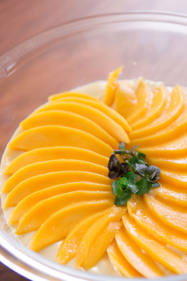 Vegan Mango Pudding