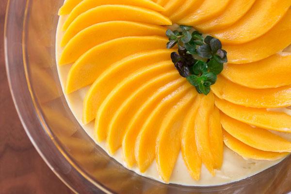 Vegan Mango Pudding