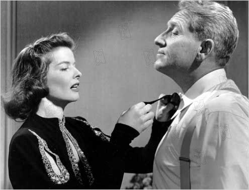 Katharine Hepburn and Spencer Tracey