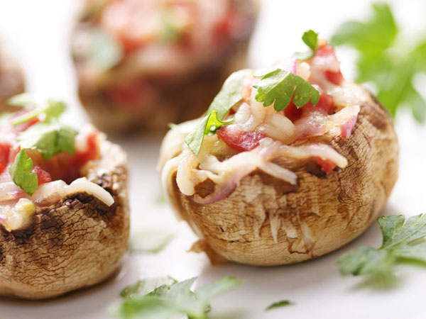 Stuffed Mushrooms Finger Food