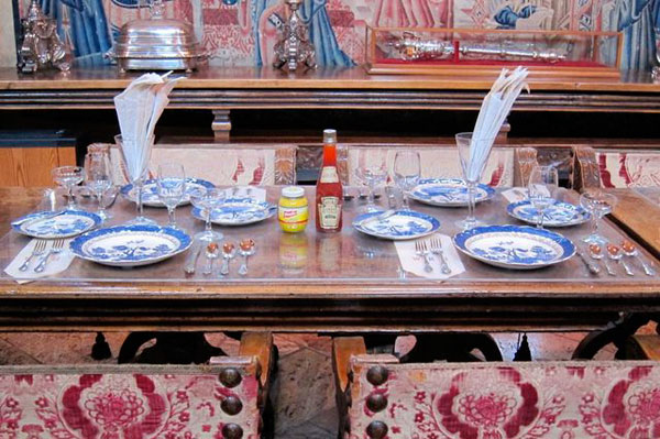 Hearst Castle Place Setting - William Randolph Hearst's Welsh Rarebit