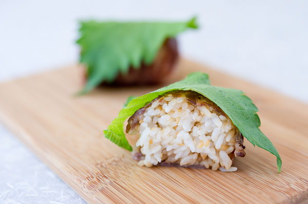 Meat-Wrapped Rice