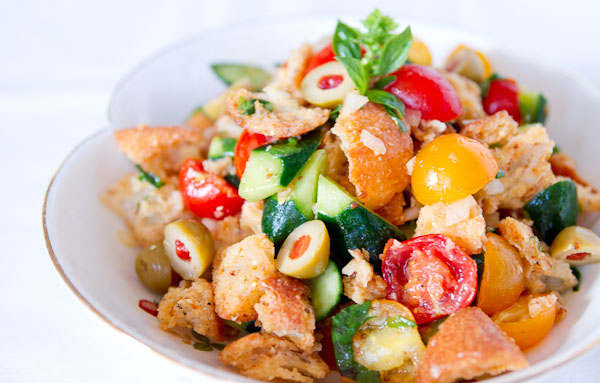 Panzanella Salad Recipe | Fresh Tastes | PBS Food