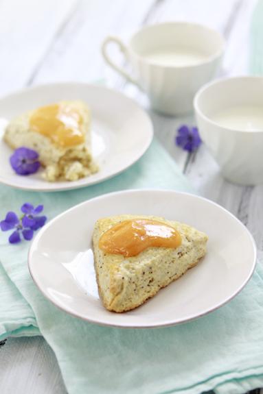 Poppy Seed Buttermilk Scone Recipe