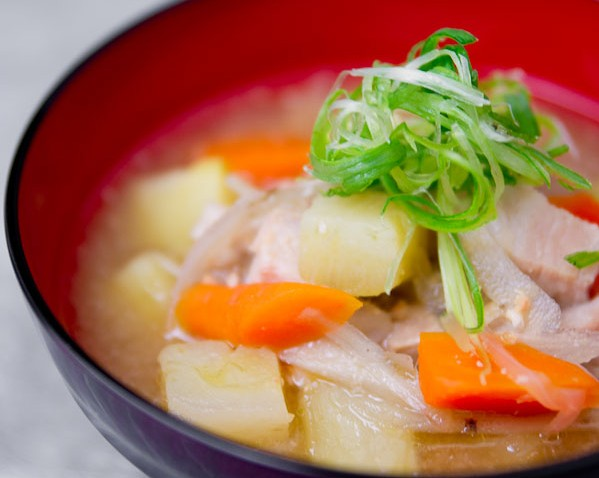 Japanese pork soup recipe japanese recipes pbs food forumfinder Image collections