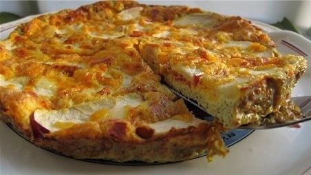 Apple-Bacon-Cheddar Frittata Recipe | Breakfast Recipes ...