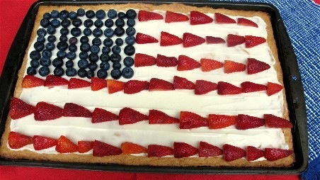 Fourth Of July Berry Sweetza Pizza Recipes Pbs Food