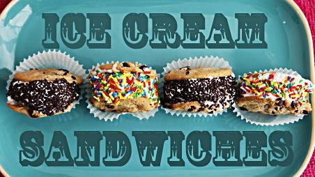 Ice Cream Sandwiches Recipe Dessert Recipes Pbs Food