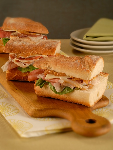 Prosciutto and Fig Spread Sandwich | Recipes | PBS Food