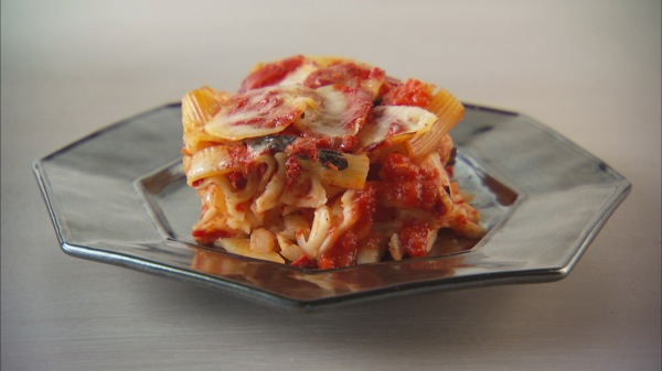 Tomato, Pasta, and Potato Bake Recipe | PBS Food