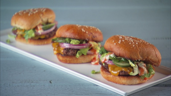 Old-Fashioned Cheeseburgers Recipe | PBS Food