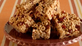 Cranberry oat cereal bars recipe pbs food 1313077446864229large learn how to create ccuart Gallery