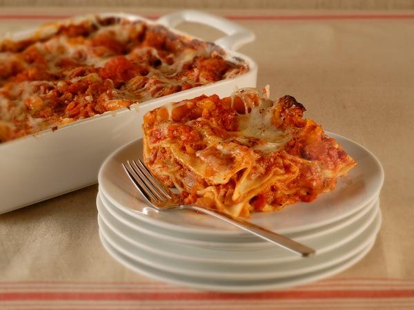 Tomato-Sausage Lasagna Recipe | PBS Food