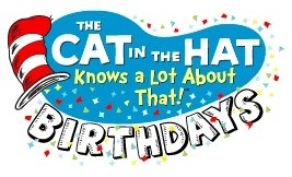 The Cat In Hat Birthday Party Cake Frosting