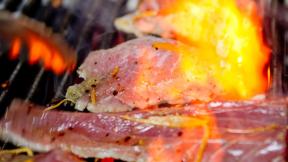 Lemon Grilled Tuna Steak