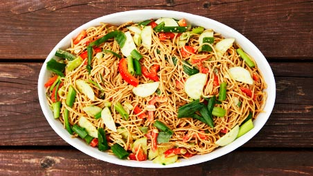 Cold Asian Noodle Salad Recipe | Entree Recipes | PBS Food