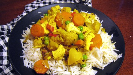Coconut Chicken And Vegetable Curry Recipe Thai Recipes