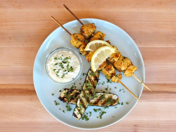 "Sephardic Fish Skewers from ""The Shiksa"" blog"