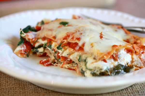 Try Jenna's recipe for lasagna