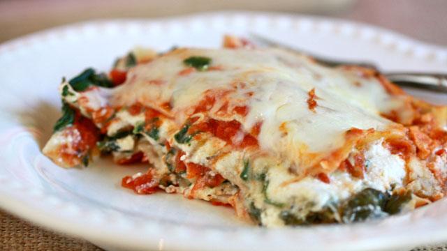 Vegetarian Lasagna Recipe Vegetarian Recipes Pbs Food