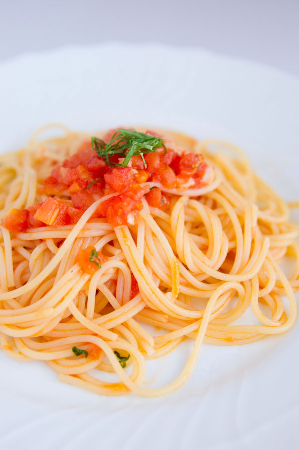 Try Marc's recipe for Pasta al Pomodoro