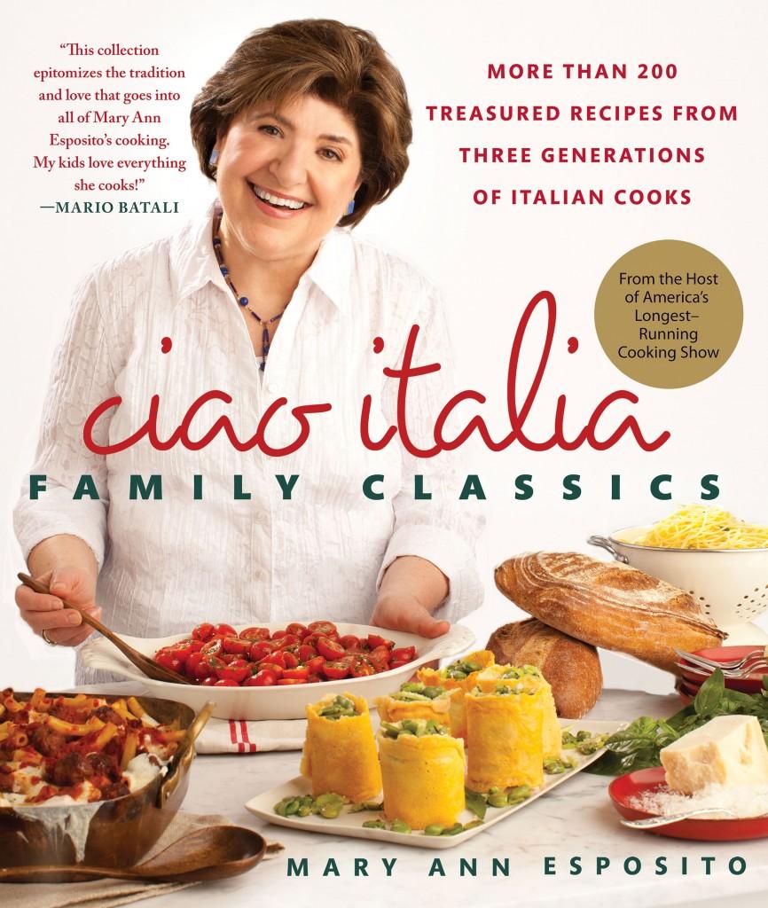 Italian Cookbook Cover : Win mary ann esposito s new cookbook pbs food