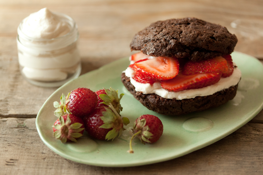 "Chocolate Strawberry Shortcake from ""What's Gaby Cooking"""