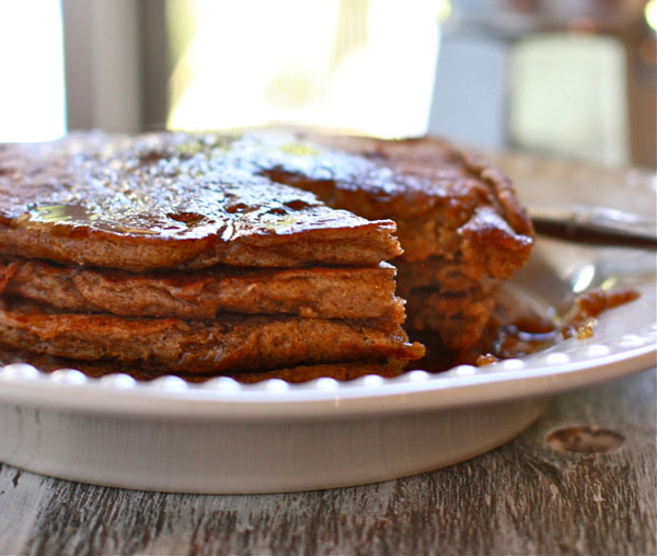 Try Jenna's recipe for gingerbread pancakes