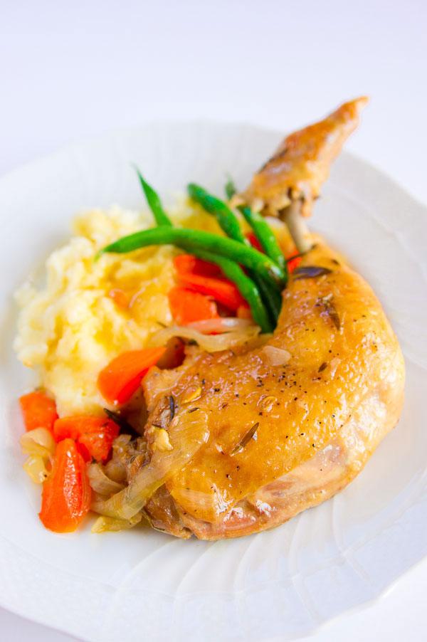 Make Marc's recipe for potroast chicken