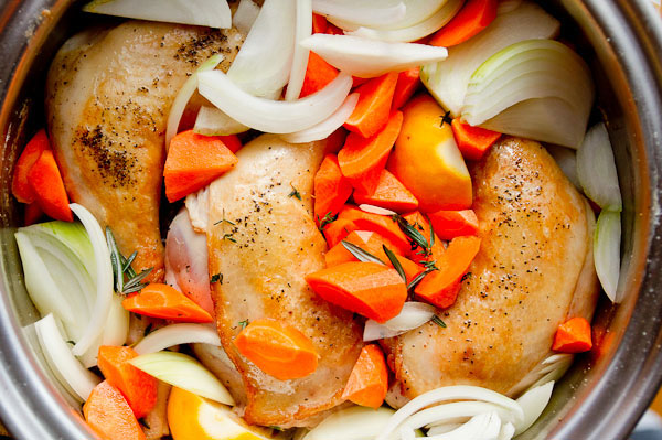 Make Marc's recipe for potroast chicken