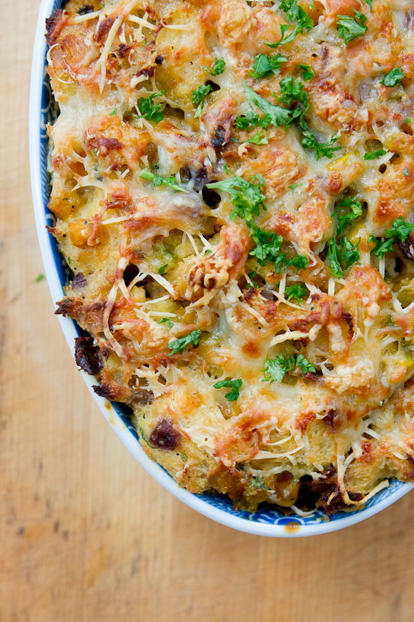 savory pumpkin bread pudding this version of bread pudding ensures