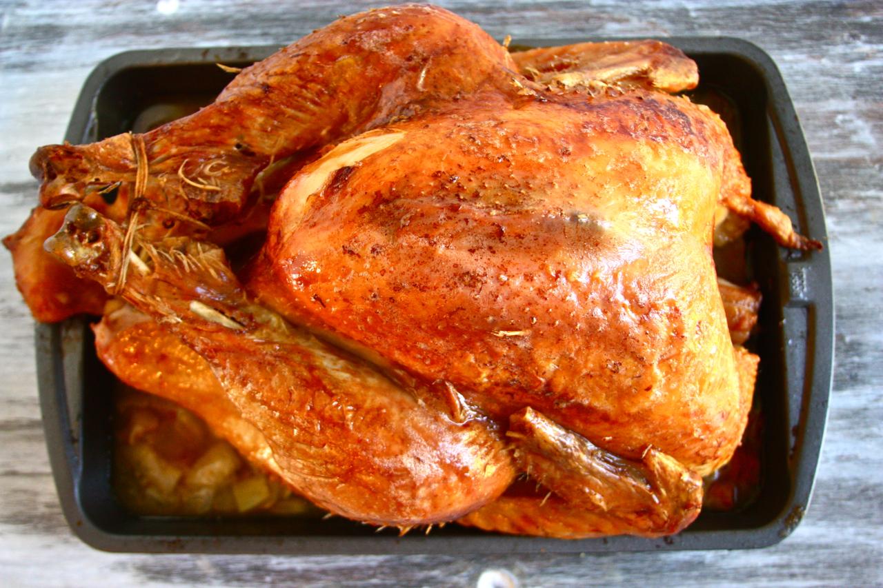 Brown Sugar And Cayenne Brined Turkey Entree Recipes