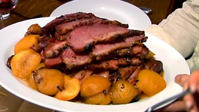 Brisket with potatoes