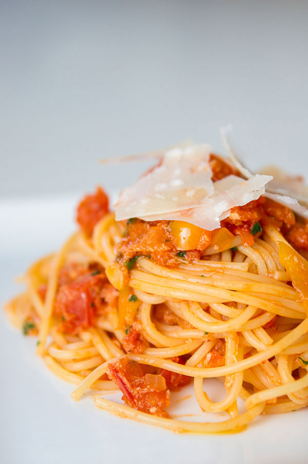 Crab Pasta Recipe and Tomato Sauce