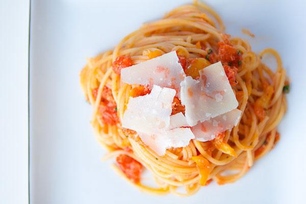 Crab Pasta Recipe and Tomato Sauce