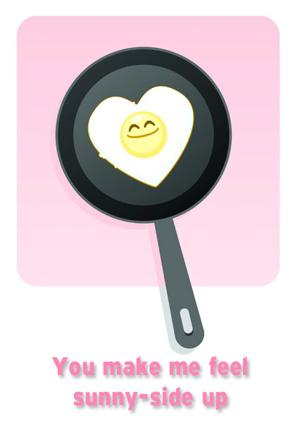 Valentines for Foodies Features – Food Valentine Cards