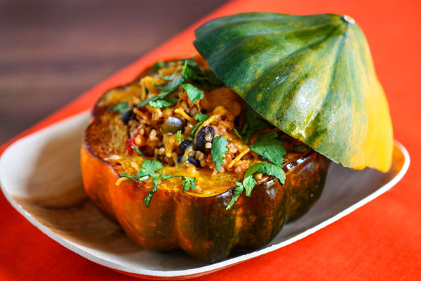 Stuffed acorn squash recipe fresh tastes blog pbs food acorn squash forumfinder Gallery