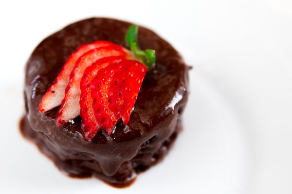 Using just a microwave, you can whip up this decadent chocolate cake that is so simple to make.